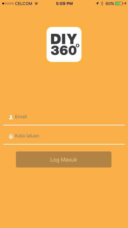 DIY360 Apps Registration