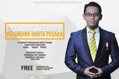 Peluang Kerjaya Perunding Shariah Estate Planning 8 Februari 2018