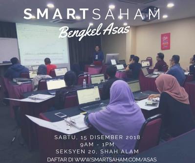 SMARTSAHAM Bengkel Asas - 15 Dis 2018