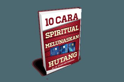 Ebook 10 Cara Spiritual Melunaskan Hutang
