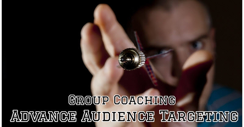 Group Coaching Exclusive - Facebook Advance Audience Targeting (25/5)