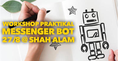Workshop Cara Setup Facebook Messenger Bot