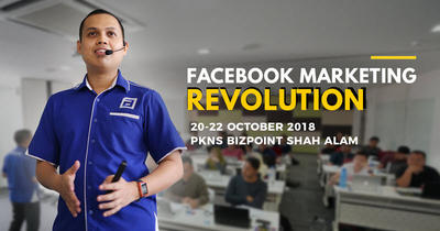 Workshop FB Marketing Revolution Edisi Oktober 2018