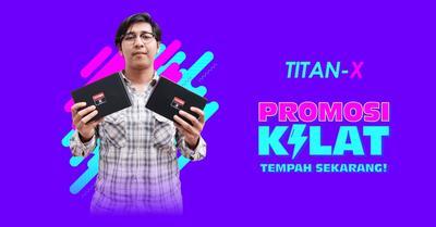 PromoKilat: Pakej Mampu Milik Titan X Lightning Processor System