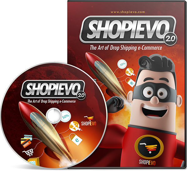 SHOPIEVO 2.0 - The Art of Drop Shipping eCommerce