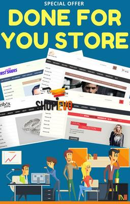 Done For You E-com Store