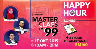 GH Masterclass Happy Hour