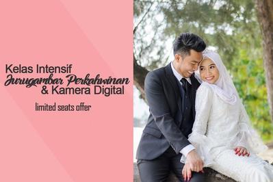 Kelas Intensif Jurugambar Perkahwinan & Kamera Digital 2018