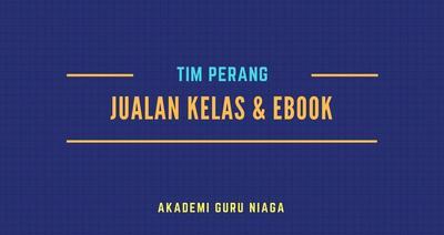Sales Kelas Dan Ebook Team Perang AGN