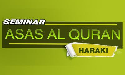 Seminar Asas  Al-Quran Kaedah Haraki