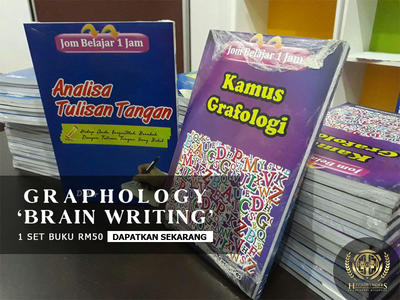 Buku Graphology - Brain Writing