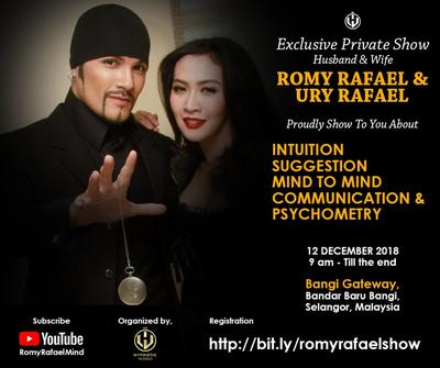 Private Show Romy Rafael