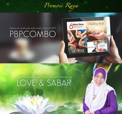 (PROMO RAYA) Parenting Bijak Pro Combo + Love And Sabar