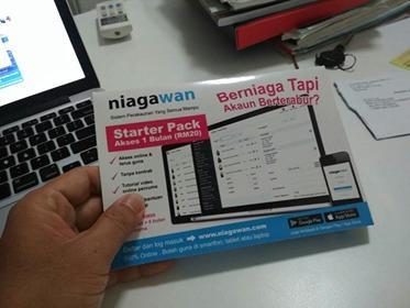PERCUMA 1 Bulan DEMO Starter Pack Akauntax Sistem Niagawan