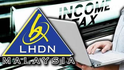 E-filing & submission BorangB income tax to LHDN