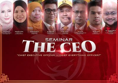 Seminar TheCEO Khamis 15 Mac 2018 (9.30pg - 6ptg)