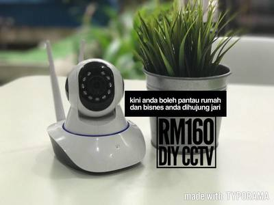 wireless icctv DIY camera