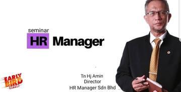 Seminar HR Manager Sabtu 26Jan19