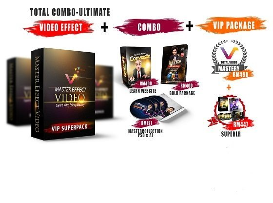VIDEO EFFECT PACKAGE - Starter, Premium, VIP, & Combo Ultimate