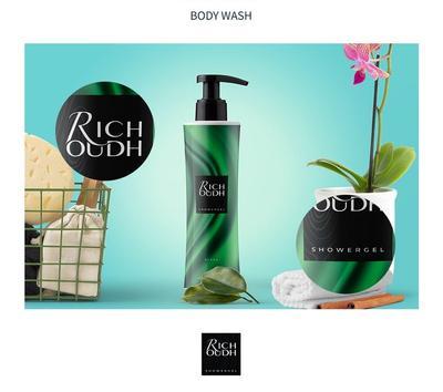 Borang Pembelian Rich Oudh Shower Gel - 350ml