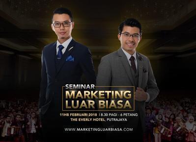 Seminar Marketing Luar Biasa 11 FEBRUARI 2018
