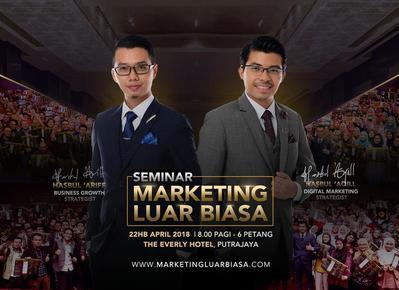 Seminar Marketing Luar Biasa 22 APRIL 2018
