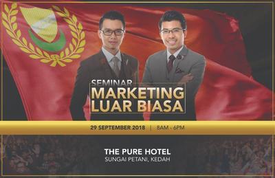 Seminar Marketing Luar Biasa 29 SEPT 2018