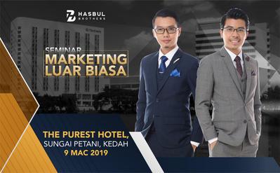 Seminar Marketing Luar Biasa The Purest 9 Mac 2019