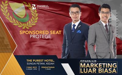 Seminar Marketing Luar Biasa The Purest 9 Mac 2019-SPONSORED PROTEGE