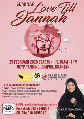 Seminar LOVE Till Jannah