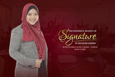 THE POWERFUL SECRETS OF SIGNATURE