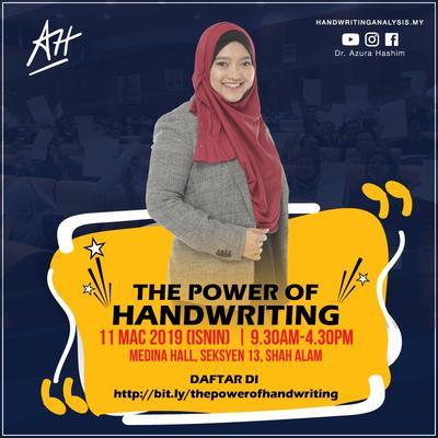 THE POWER OF HANDWRITING