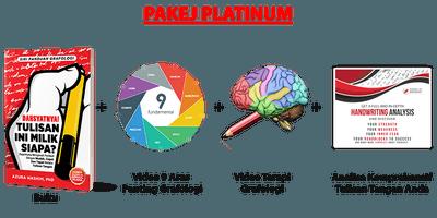 [PLATINUM] Buku  + Video 9 Asas Graphology + Video Terapi Graphology + Analisa
