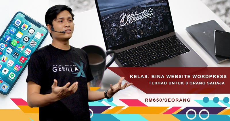 Kelas Bina Website Wordpress