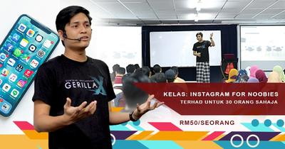 Kelas Instagram For Noobies