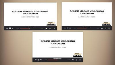 RAKAMAN WEBINAR - ONLINE GROUP COACHING