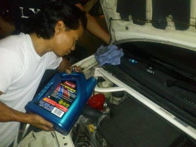 Borang Tempahan Minyak Enjin