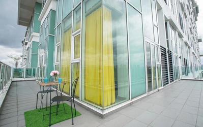 Penthouse untuk disewa di Scott Garden Kuala Lumpur