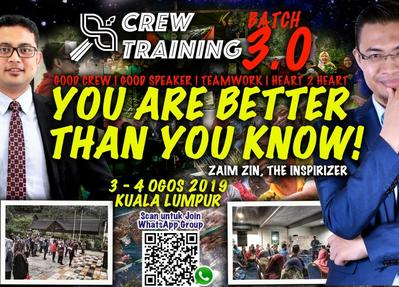 MYWAU FIGHTER TRAINING PROGRAMME - BATCH 3 -