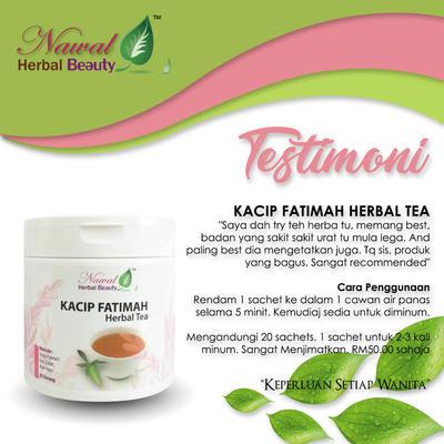 KACIP FATIMAH HERBAL TEA