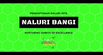 Pendaftaran NALURI Bangi 2019