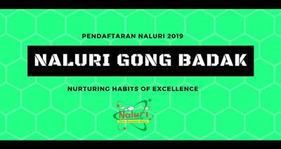 Pendaftaran NALURI Gong Badak 2019