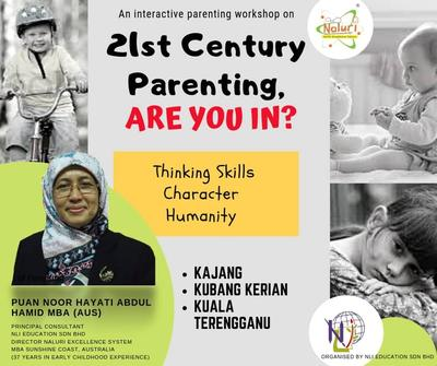 Parenting Seminar 21st Century Parenting, Are You in?