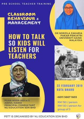 Pre School Teacher Training Kota Bharu