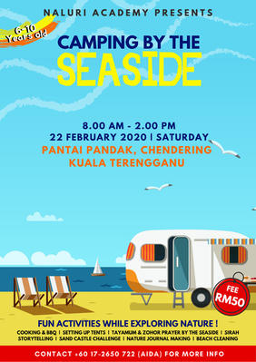 Camping By The Seaside 2020 Registration Form