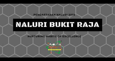 Pendaftaran NALURI Bukit Raja 2019