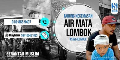 Bantuan Kecemasan Bencana Di Lombok