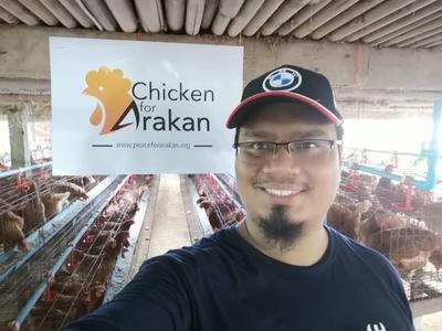 Sedekah Pembinaan Sustainability Projek Reban Ayam dan Telur Untuk Arakan