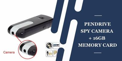 Pendrive Spycamera + 16Gb Memory Card