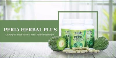 Kapsul Peria Herbal Plus 60 Biji Sebotol